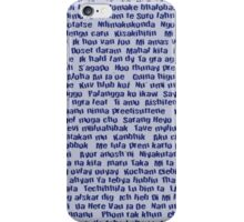 100 Ways To Say I love You For Him iPhone Case/Skin