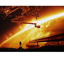 Red Sun Chronicle Photographic Print