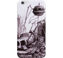 Tripods at Northumberland Avenue iPhone Case/Skin