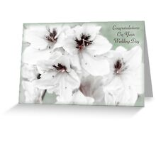 Romance - Sage Wedding Greeting Card