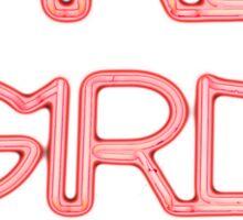 Girls! Girls! Girls! 3X Bright Sticker