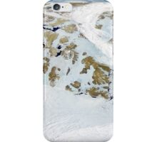 Partial view of Earth showing northern Canada and northern Greenland.  iPhone Case/Skin