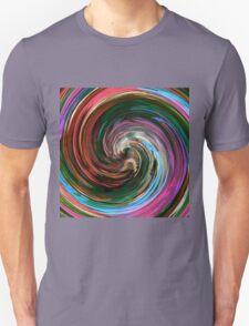 Modern Colorful Swirl Abstract Art #3 T-Shirt