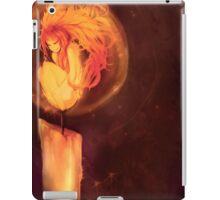 Flame girl iPad Case/Skin