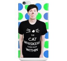 phil lester green and blue iPhone Case/Skin
