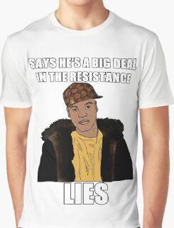 Scumbag Finn (Star Wars) Graphic T-Shirt