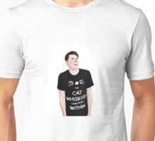 dan howell double chin Unisex T-Shirt