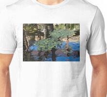 Unusual Waterlilies - a Charming Water Garden in Hawaii Unisex T-Shirt
