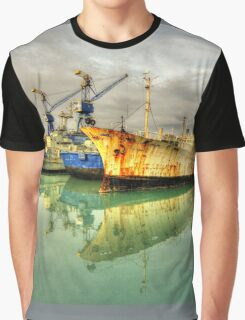 Paola Dock Reflections  Graphic T-Shirt
