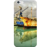 Paola Dock Reflections  iPhone Case/Skin