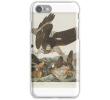 John James Audubon (Jean-Jacques Audubon) (), VIRGINIAN PARTRIDGE, FROM THE BIRDS OF AMERICA,  iPhone Case/Skin