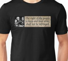 The 2nd Amendment Unisex T-Shirt