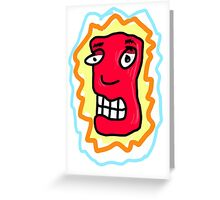 Red head dude Greeting Card