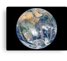 Full Earth showing the eastern hemisphere. Canvas Print