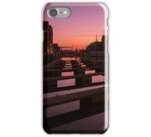 Gloucester Docks Sunset iPhone Case/Skin