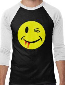 SMILEY Men's Baseball ¾ T-Shirt