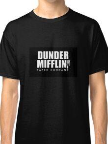 Dunder Mifflin - Black Classic T-Shirt