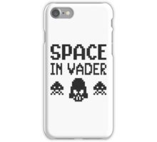 Space in-vader iPhone Case/Skin