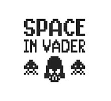 Space in-vader Photographic Print