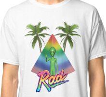 Vaporwave Alien Classic T-Shirt