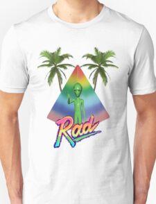 Vaporwave Alien Unisex T-Shirt