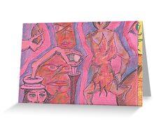 cane sword Greeting Card