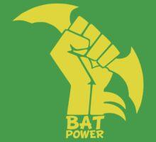 BATMAN POWER - BLACK POWER - BAT POWER Baby Tee