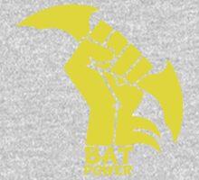 BATMAN POWER - BLACK POWER - BAT POWER One Piece - Long Sleeve