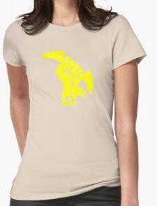 BATMAN POWER - BLACK POWER - BAT POWER Womens Fitted T-Shirt