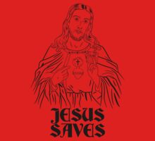 Jesus Saves Baby Tee
