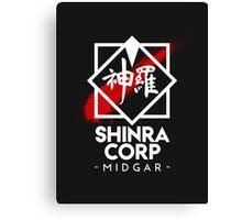 Shinra Corp - Midgar Canvas Print