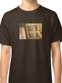 Rosettes and Garlands, Celsus Library Ceiling Classic T-Shirt