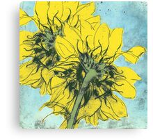 The Sunflowers moment Canvas Print