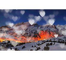 mountain hearth Photographic Print