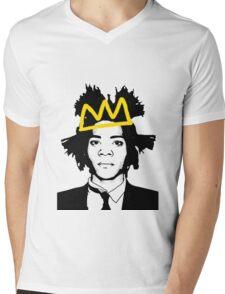 Basquiat 3 Mens V-Neck T-Shirt