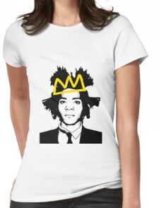 Basquiat 3 Womens Fitted T-Shirt