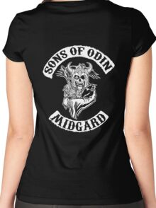 Sons Of Odin - Midgard Chapter Women's Fitted Scoop T-Shirt