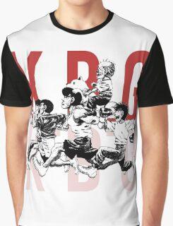 K.B.G Team - Hajime No Ippo Graphic T-Shirt