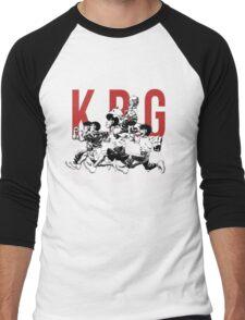 K.B.G Team - Hajime No Ippo Men's Baseball ¾ T-Shirt