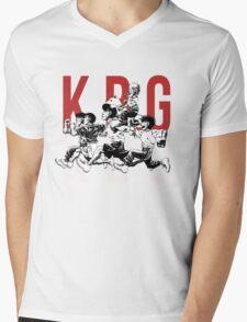 K.B.G Team - Hajime No Ippo Mens V-Neck T-Shirt