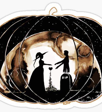 Halloween Love (Happy Halloween !)  Sticker