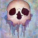 Skull Textured by Aleksandra Kurczewska