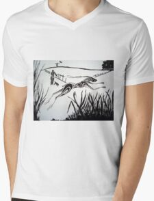 Bright Eyes Mens V-Neck T-Shirt