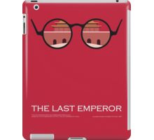 The last emperor iPad Case/Skin
