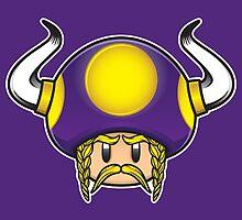 Minnesota Vikings 1Up by joeeasy