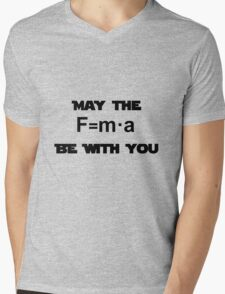 Star Wars Physics Force  Mens V-Neck T-Shirt