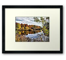Fall at Tinker's Creek Framed Print