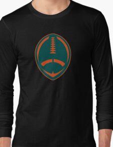 Vector Football - Dolphins Long Sleeve T-Shirt