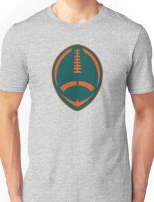 Vector Football - Dolphins Unisex T-Shirt