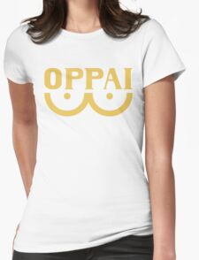OPM OPPAI hoodie (yellow) Womens Fitted T-Shirt